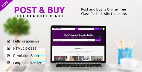 online ad templates from themeforest