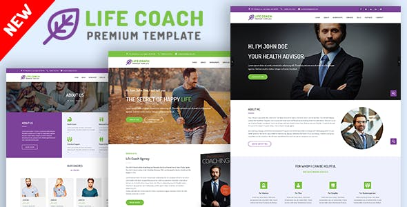 life coach psychologist and speaker template