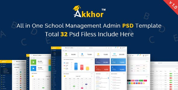 Student Management Templates from ThemeForest