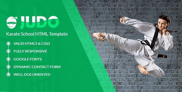 Karate Website Templates From ThemeForest