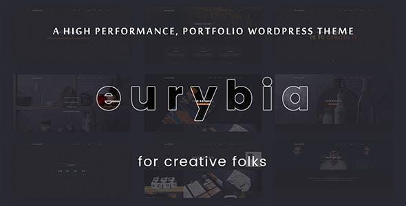Eurybia - Creative Portfolio WP Theme