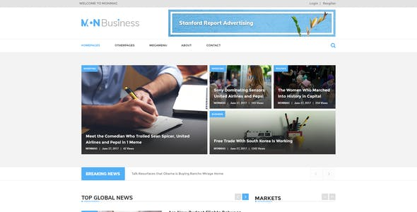 Video Professional Corporate Psd Templates From Themeforest