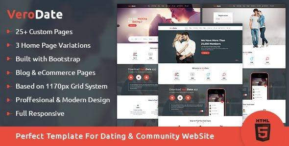 matchmaking site template