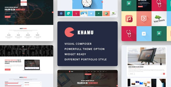 responsive web design templates from themeforest