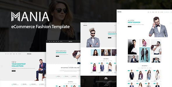 HTML Fashion Website Templates From ThemeForest Page - Fashion website templates