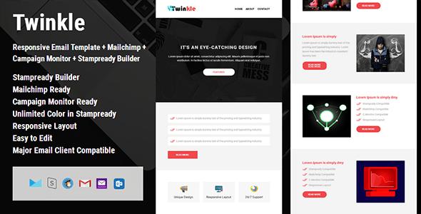 Mailchimp Builder Website Templates From ThemeForest - Mailchimp create template from campaign