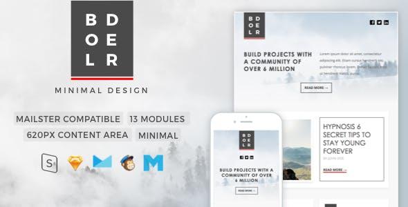 Sendgrid templates from themeforest bolder minimal newsletter maxwellsz