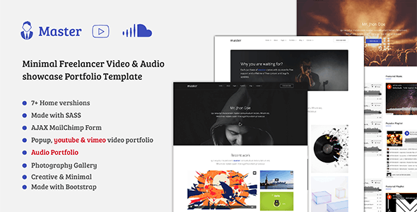 Video Editor Templates from ThemeForest