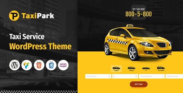 Taxi Park - Taxi Cab Service Company WordPress Theme