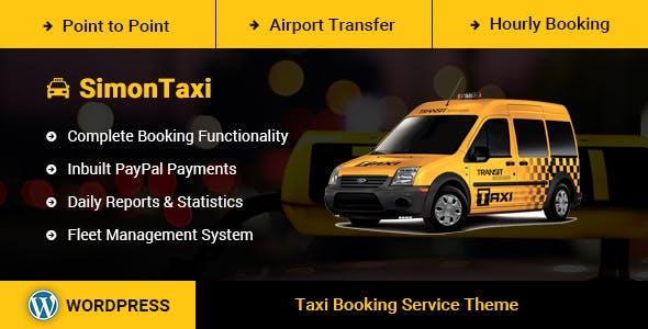 SimonTaxi - Taxi Booking WordPress Theme by DigiSamaritan   ThemeForest