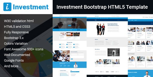 Bootstrap Templates Insurance Professional Corporate HTML Website ...