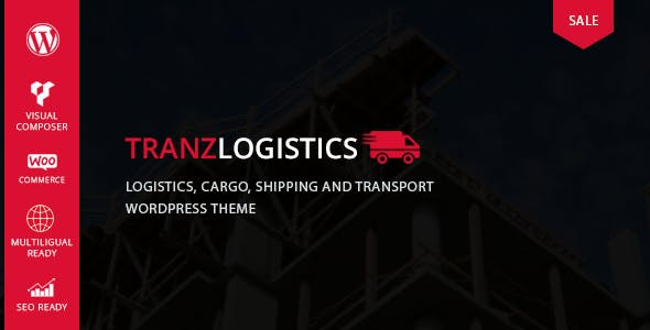 21+ Shipping WordPress Themes & Templates 2019 [ Download Now ]