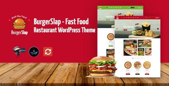 Burger Slap - Fast Food Restaurant WordPress Theme