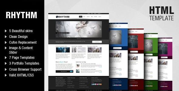 Rhythm website templates from themeforest rhythm template accmission Choice Image