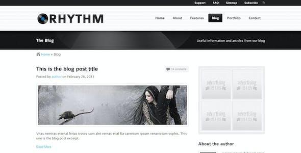 Rhythm website templates from themeforest rhythm template rhythm template flashek Choice Image