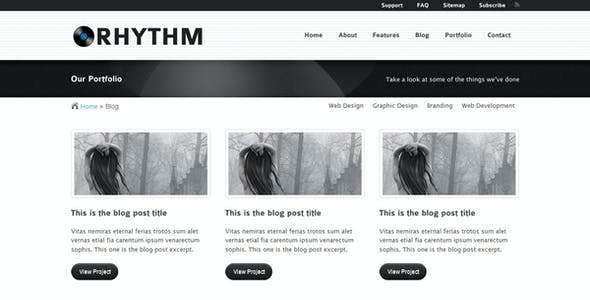 Rhythm website templates from themeforest rhythm template rhythm template rhythm template rhythm template rhythm template accmission Choice Image