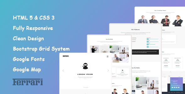 Edge HTML Website Templates from ThemeForest (Page 60)