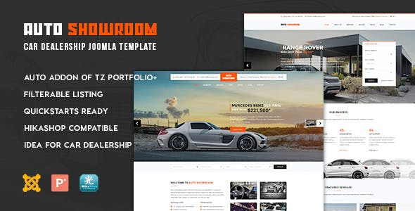 Used Car Dealer Website Templates From ThemeForest - Car dealer website template
