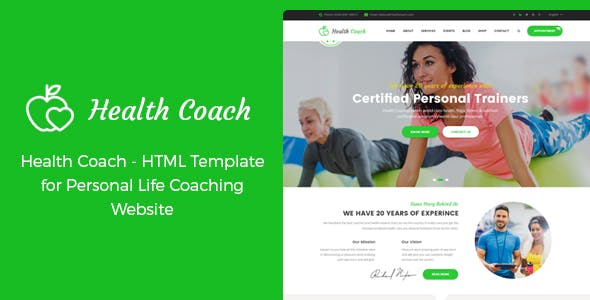 dietitian html website templates from themeforest