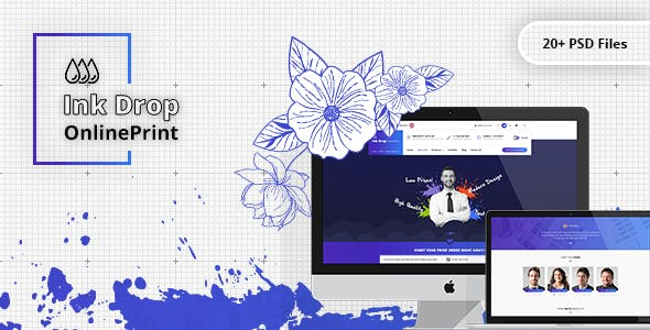 Online Printing Website Templates From Themeforest