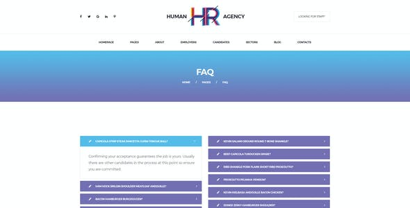 human resources psd files and photoshop template