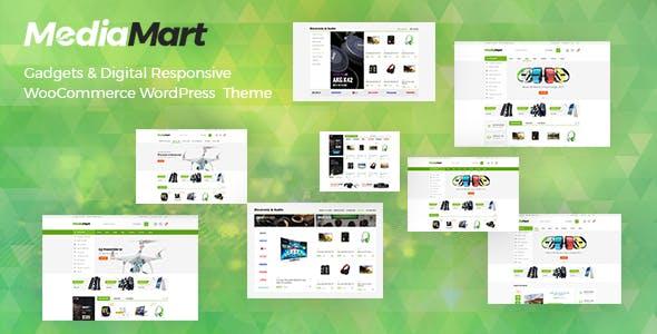 MediaMart - Gadgets & Digital Responsive WooCommerce WordPress Theme