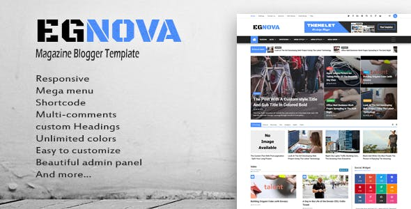2 Columns Templates from ThemeForest
