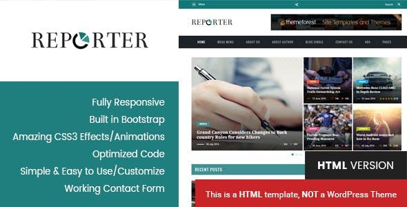 online magazine templates from themeforest