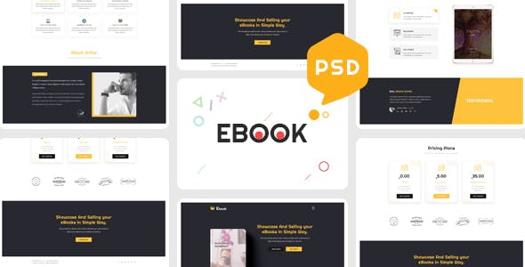 Publisher PSD Files and Photoshop Templates from ThemeForest