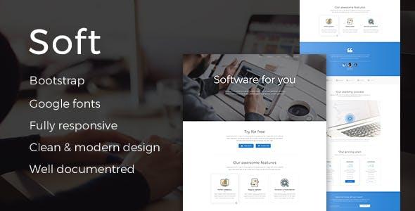 Software Developer Website Templates From ThemeForest