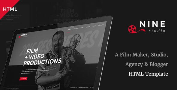 Film Website Templates from ThemeForest