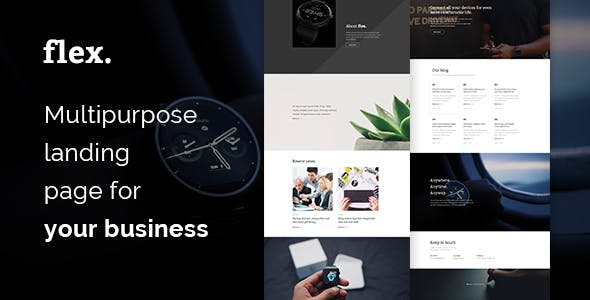 google play html website templates from themeforest