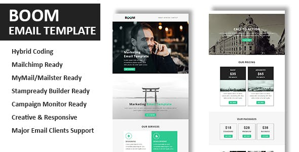 Icontact Website Templates from ThemeForest (Page 3)