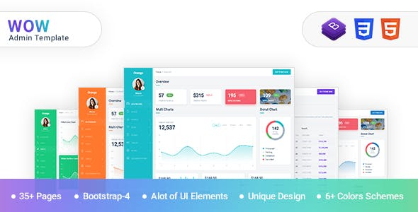 Top 10 Best admin template Nulled Themes 2019 Free Download