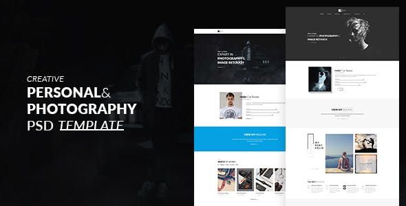 Artist Portfolio Website Templates From ThemeForest - Artist portfolio website templates