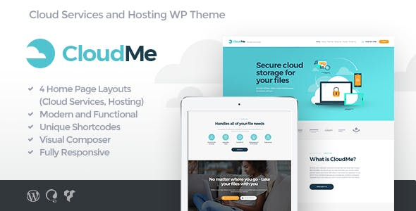 File Sharing And Cloud Storage Website Templates