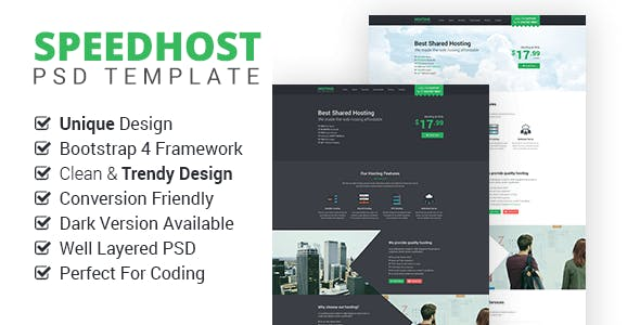 Bootstrap 4 PSD Template PSD Files and Photoshop Templates 09a01557030e