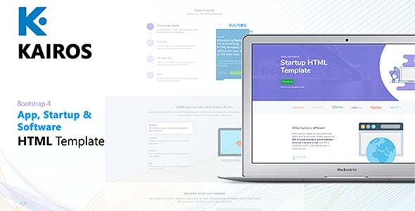 HTML Technology Website Templates from ThemeForest (Page 9)