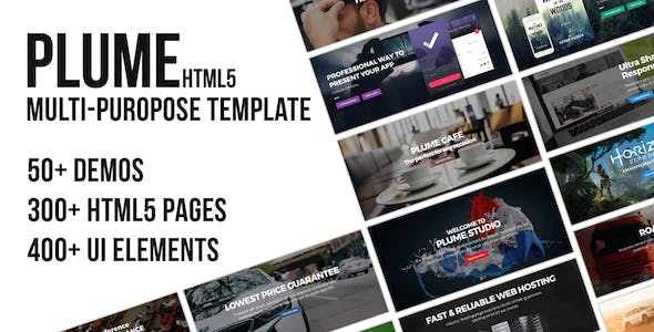Game Hosting Website Templates from ThemeForest