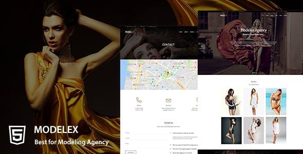Modelex a Model Agency HTML Template by Nex-Themes | ThemeForest