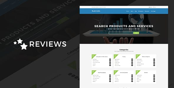 dc7907a17b67 Reviews - Products And Services Review WP Theme - Directory   Listings  Corporate