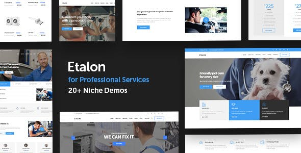 Etalon - Multi-Concept Theme for Professional Services