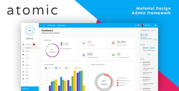 Angular And Angularjs HTML Admin Website Templates