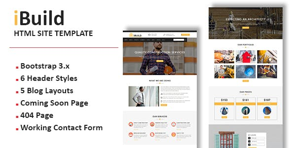 Free Templates from ThemeForest