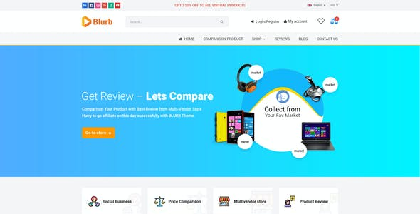 Product Review Website Templates From Themeforest