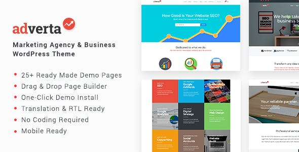 Product Showcase WordPress Themes from ThemeForest