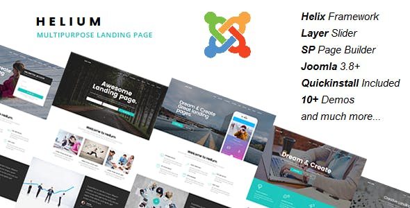Marketing Campaign CMS Website Template from ThemeForest