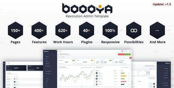 boooya revolution admin template