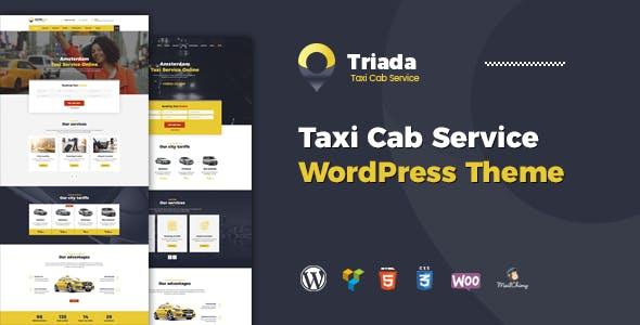 Triada - Taxi Cab Service Company WordPress Theme