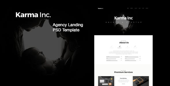black amp white templates from themeforest